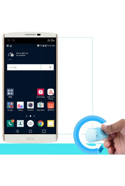 Teknoarea LG V10 Nano Cam Ekran koruyucu film