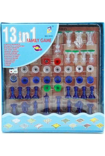 Mıklatıslı 13 in 1 Kutu Oyunu