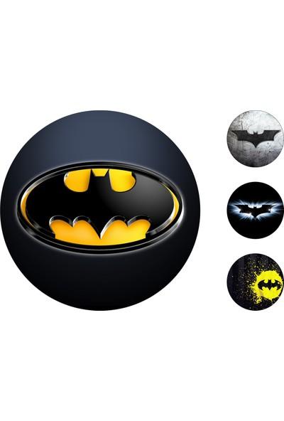 Batman Gofret Kağıt Baskı Logo (21 x 29 cm)