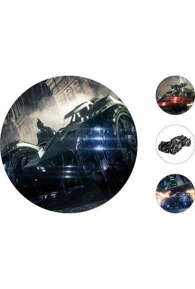 Batman Gofret Kağıt Baskı Batmobile (21 x 29 cm)