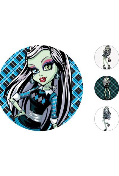 Monster High Gofret Kağıt Baskı Frankie Stein (21 x 29 cm)