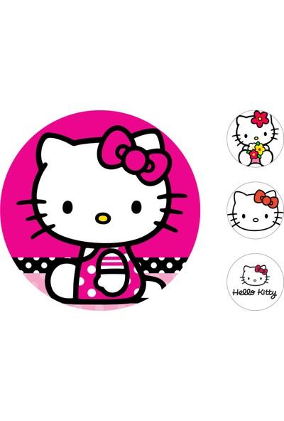 Hello Kitty Gofret Kağıt Baskı (21 x 29 cm)