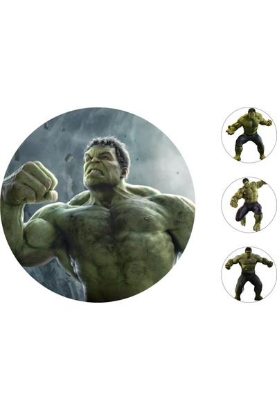 Hulk Gofret Kağıt Baskı (21 x 29 cm)