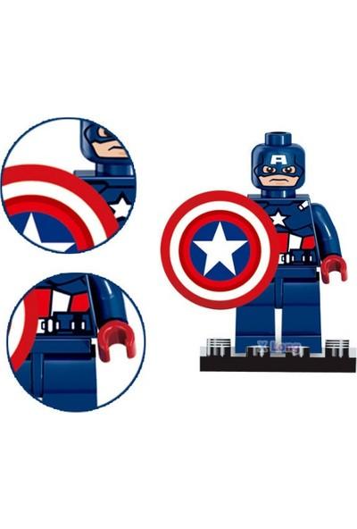 Trendelektro Lego Uyumlu Batman Super Kahramanlar 8 Adet Hero Figür