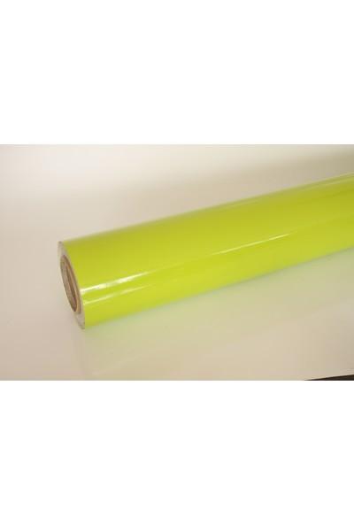 Yapışkanlı Folyo Fıstık Yeşil 122 X 8 Metre