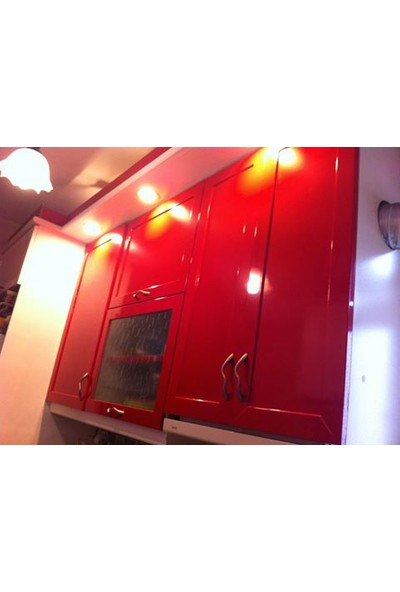 Yapışkanlı Folyo Kırmızı 122 X 6 Metre