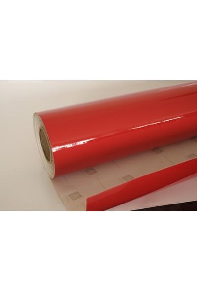 Yapışkanlı Folyo Kırmızı 122 X 1 Metre
