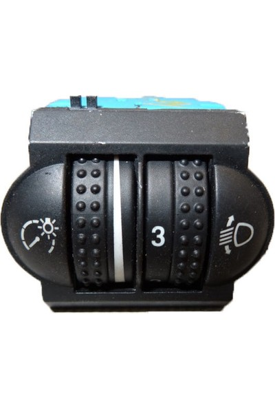 Volkswagen Touareg Cihaz & Far Ayar Düğmesi 7L6941333D