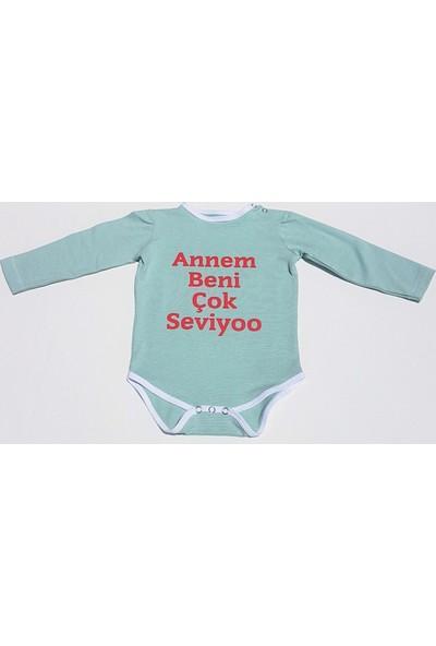Silverlife Çıtçıtlı Antiradyasyon Bebek Badisi Yazılı