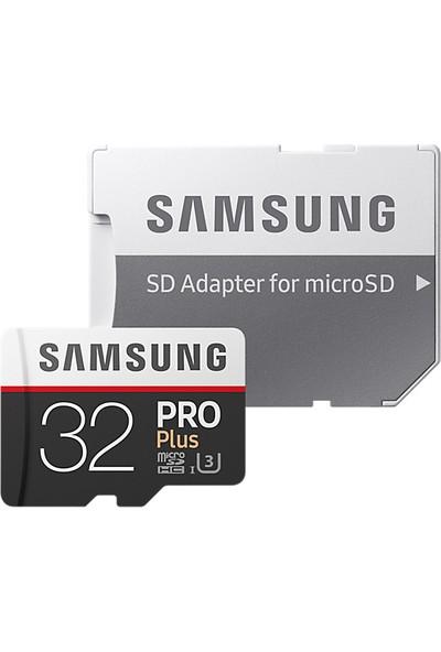 Samsung PRO Plus 32GB 100 MB/s microSDHC Kart (SD Adaptor) MB-MD32GA/EU