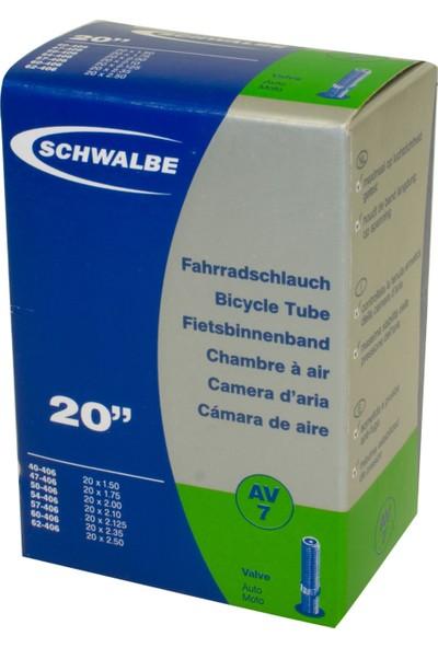 Schwalbe İç Lastik 20*1,50/2.00 AV7 Oto Sibop