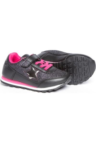 LC Waikiki Kız Çocuk Cırt Cırt Detaylı Spor Ayakkabı