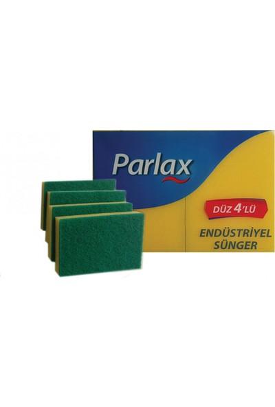 Parlax Endüstriyel Sünger Düz 4'lü