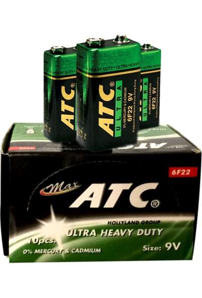 ATC 9V Alkali Pil 10 lu Kutu