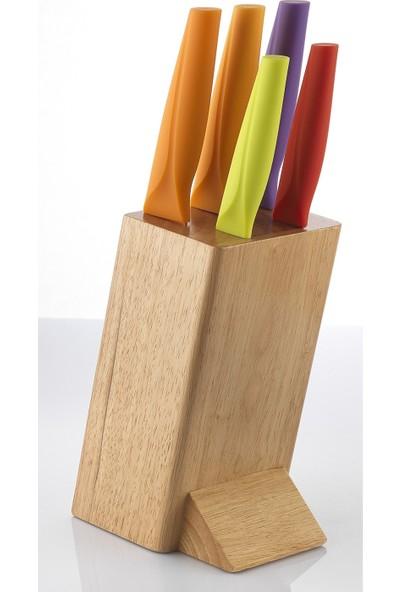 Schafer Solide 6 Parça Bıçak Seti - Kah02