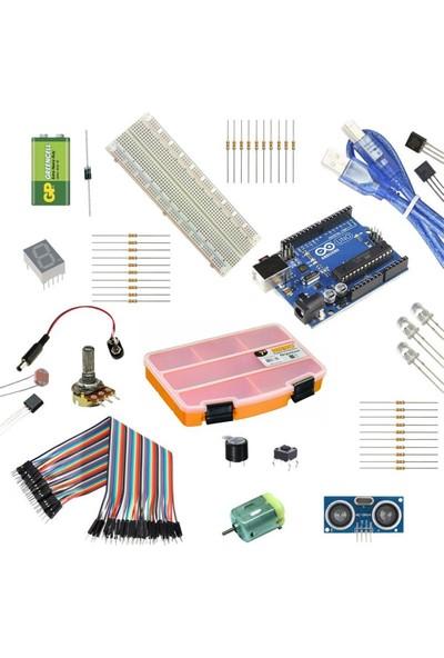Set Arduino Başlangıç Seti (Arduino Uno R3)