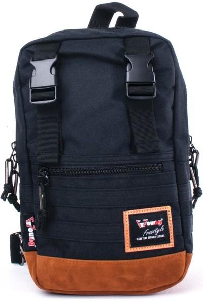 Young Body Bag Sırt Çantası Siyah 31035