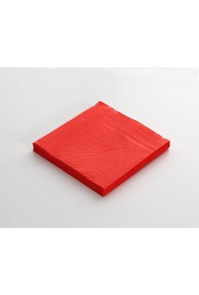 Moderona Kağıt Peçete Kırmızı 33x33