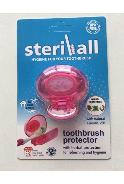 Steriball Diş Fırçası Koruma Kabı-Turuncu