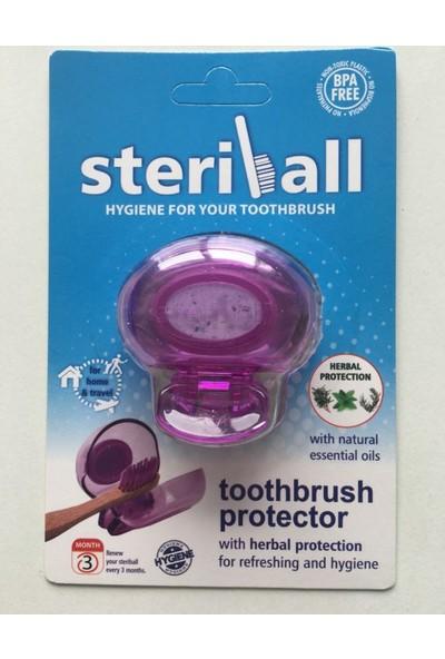 Steriball Diş Fırçası Koruma Kabı-Mor