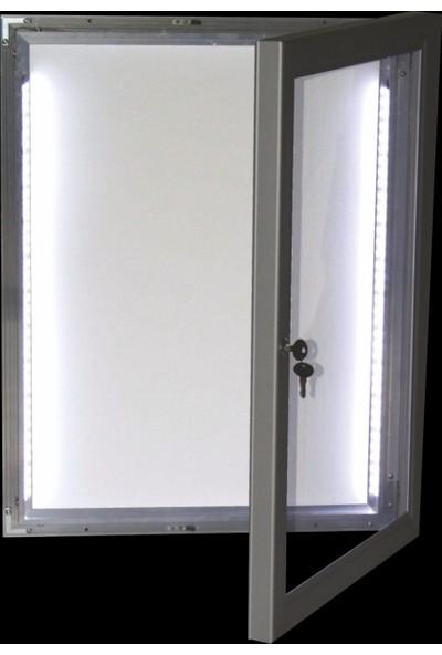 ORES LED Işıklı İlan Dolabı - 4xA4