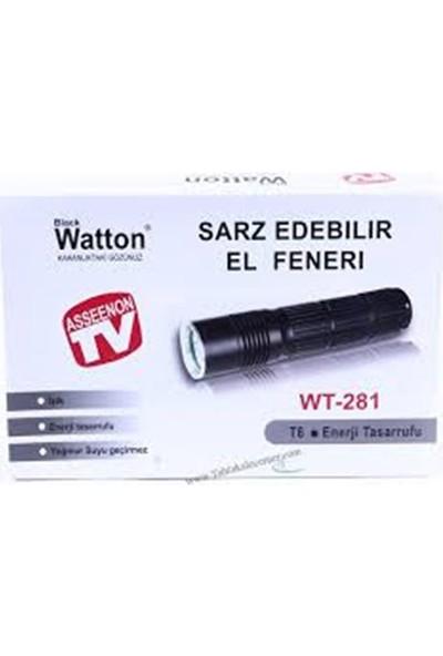 Blackwatton Wt-281 -Ultra Yüksek Işık El Feneri
