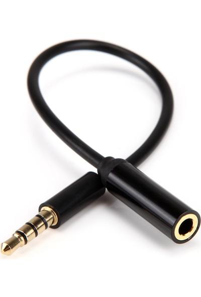 Mykablo Kulaklık Mikrofon Uzatma Kablosu 20 Cm