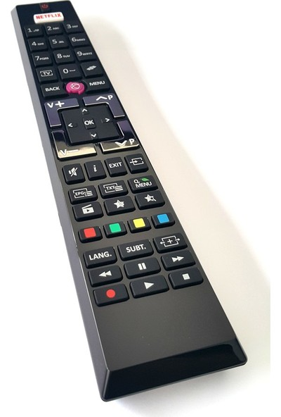 electroon Vestel Led Tv Kumanda Netflıx Tuşlu 0588A