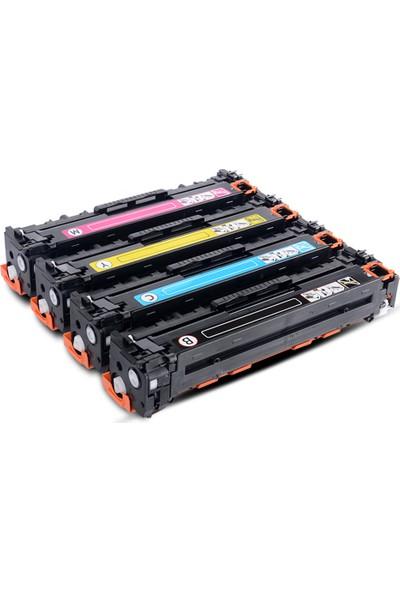 Muadil Cb540A - Cb541A - Cb542A - Cb543A Muadil Toner 4 Renk Avantaj Paket