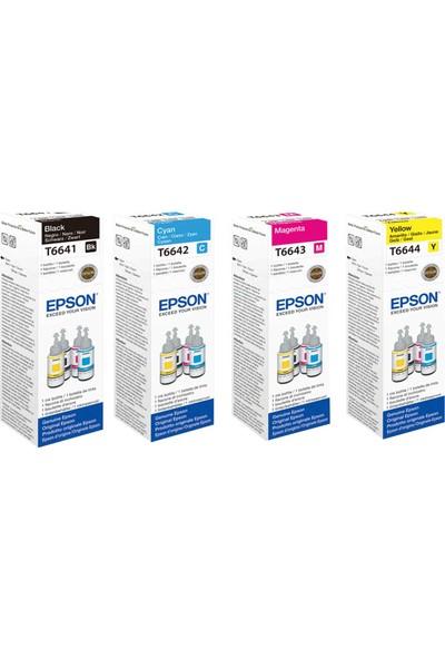 Epson T6641 / T6642 / T6643 / T6644 Orjinal Avantaj Paket