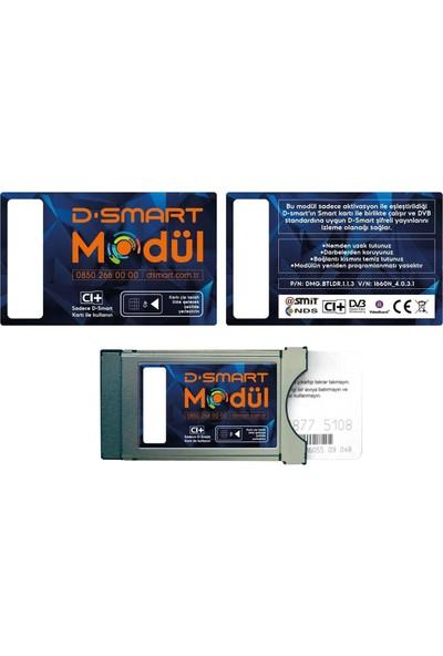 D-Smart Hd/Dfix 1 Yıllık Modül Mega Paketi