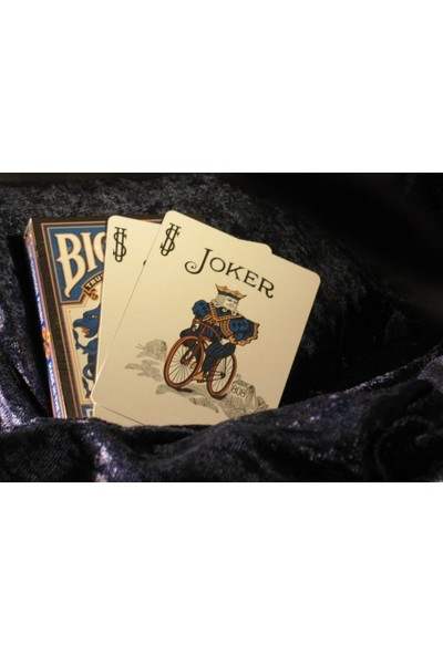 Bicycle Dragon Back Mavi Oyun Kartı Destesi Koleksiyonluk Oyun Kağıdı