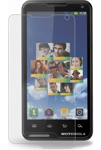 Case 4U Motorola Motoluxe Ekran Koruyucu (Parmak izi bırakmaz)*