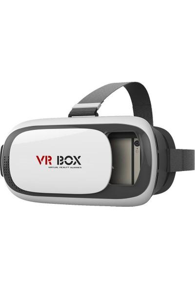 Case 4u VRBOX VR BOX 3.0 Bluetooth Kumandalı 3D Virtual Reality Sanal Gerçeklik Gözlüğü