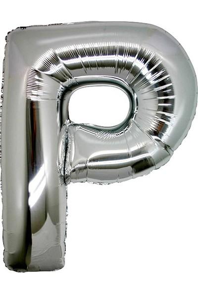 KbkMarket P Harfi 100 cm ithal Harf Balon
