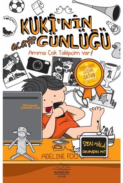 Kuki'Nin Acayip Günlüğü :Amma Çok Takipçim Var! -3- (Ciltli) - Adeline Foo