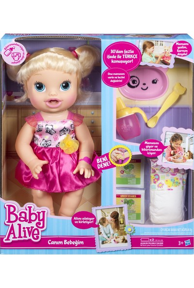 Baby Alive Canım Bebeğim