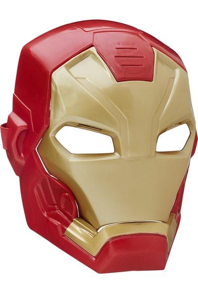 Ca Civil War Iron Man Elektronik Maske