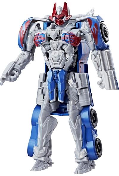 Transformers 5 Turbo Changers Hızlı Dönüşen Optimus Prime