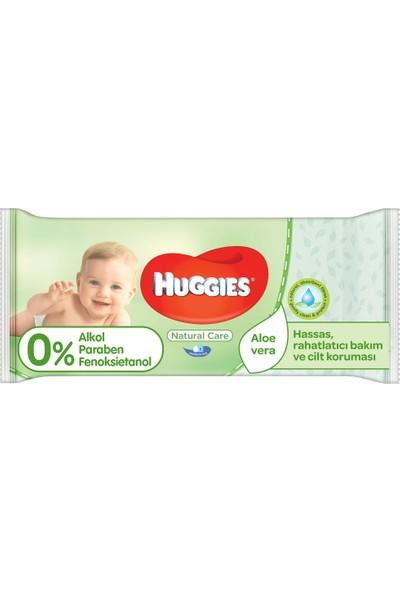 Huggies Islak Havlu (Dogal Bakım) Yeni 56 Yaprak - Tekli Paket