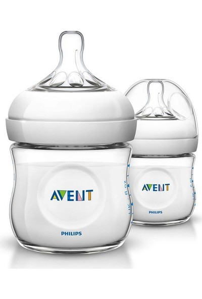 Philips Avent Natural PP Biberon 125ml 2'lİ
