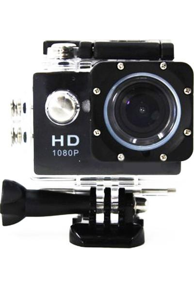 POWPAC HD 1080P Sport +5MP Aksiyon Kamera -Siyah-