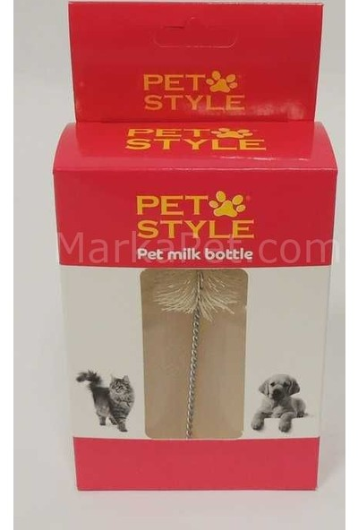 Pet Style Kedi Köpek Biberonu İkili 50 ml