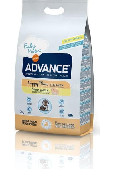 Advance Baby Protect Puppy Mini Irk Tavuklu Köpek Maması 3 Kg