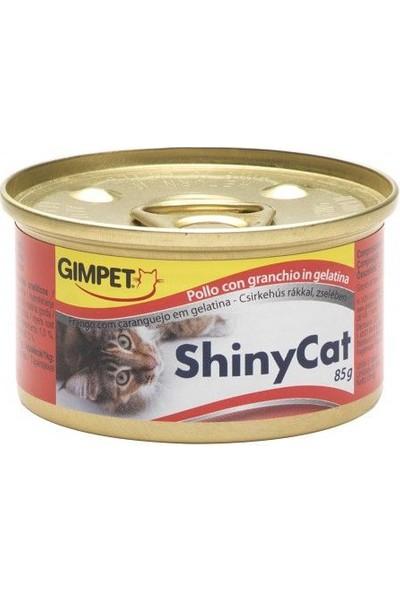 Gimpet Shiny Cat Tavuklu Yengeçli Jöleli Konserve Mama 70gr