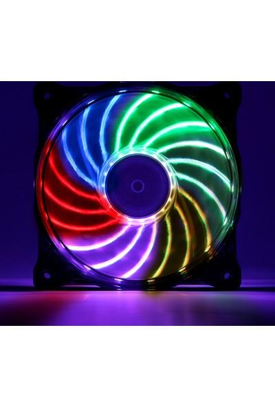 Akasa Vegas X7 RGB Led 12cm Fan (AK-FN093)