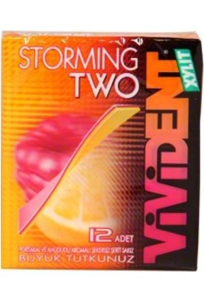 Vivident Storming Portakal Ahududu Aromalı 18 Adet
