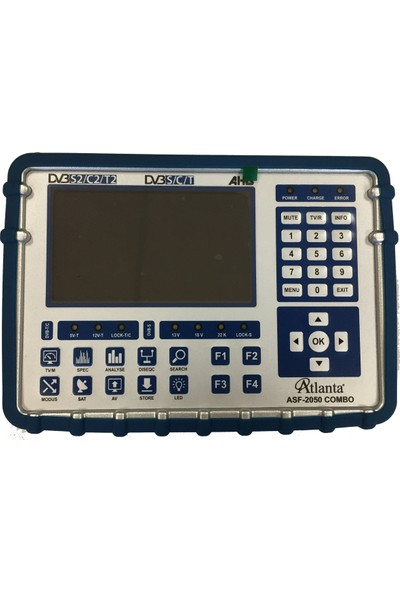 Atlanta ASF-2050 Combo Uydu Yön Bulucu AHD Kamera Test Cihazı