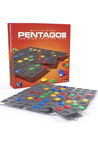 Pal Pentago Multiplayer Akıl Oyunu
