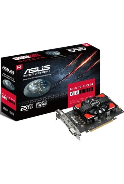 Asus AMD Radeon RX550-2G 1 2 GB 128Bit GDDR5 (DX12) PCI-E 3.0 Ekran Kartı
